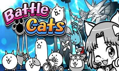 Screenshots of the Battle Cats for Android tablet, phone.
