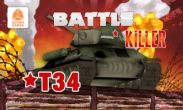 In addition to the game Royal Revolt! for Android phones and tablets, you can also download Battle Killer T34 3D for free.
