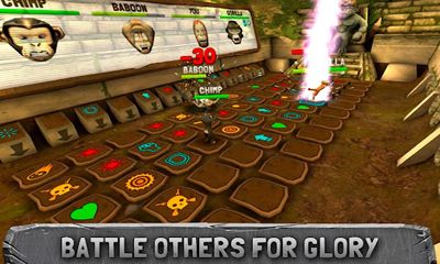 Screenshots of the Battle Monkeys for Android tablet, phone.