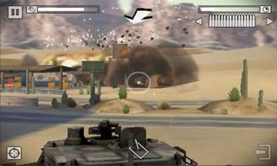 Screenshots of the Battlefield Bad Company 2 for Android tablet, phone.