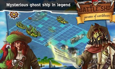 Screenshots of the BattleShip. Pirates of Caribbean for Android tablet, phone.