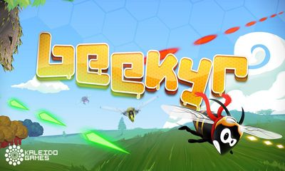 Screenshots of the Beekyr Eco Shoot'em up for Android tablet, phone.