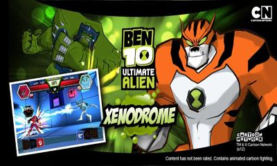 Screenshots of the Ben 10 Xenodrome for Android tablet, phone.