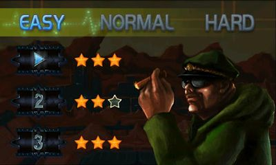 Screenshots of the Beyond The War for Android tablet, phone.