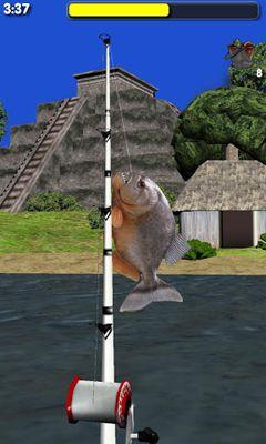Big river fishing 3d android apk game big river fishing for River fishing games