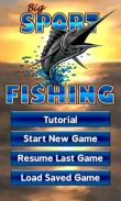 In addition to the game Real Racing 2 for Android phones and tablets, you can also download Big Sport Fishing 3D for free.