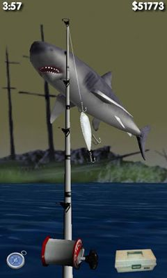 Screenshots of the Big Sport Fishing 3D for Android tablet, phone.