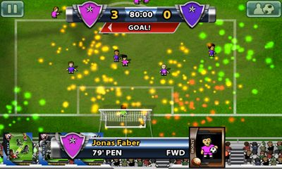 Screenshots of the Big Win Soccer for Android tablet, phone.