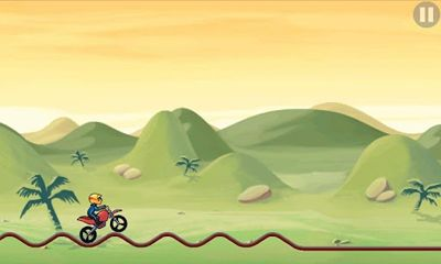 Screenshots of the Bike Race for Android tablet, phone.