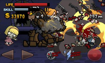 Screenshots of the Biofrenzy: Frag The Zombies for Android tablet, phone.