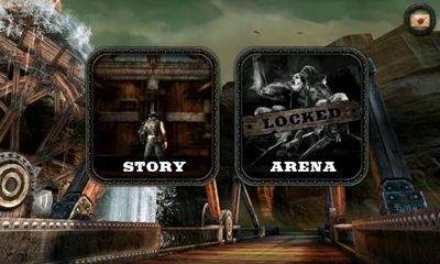 Screenshots of the Bladeslinger for Android tablet, phone.