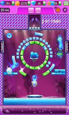 Screenshots of the Block breaker 3 unlimited for Android tablet, phone.