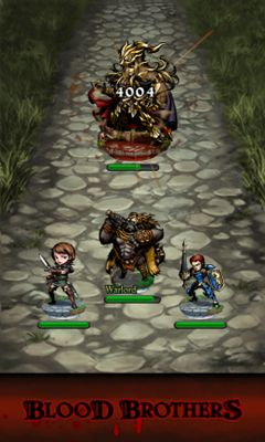 Screenshots of the Blood Brothers for Android tablet, phone.