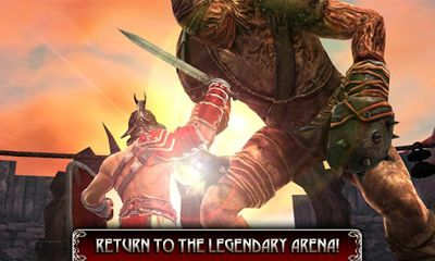 Screenshots of the Blood & Glory: Legend for Android tablet, phone.