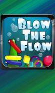 In addition to the game Angry Birds Friends for Android phones and tablets, you can also download Blow the Flow for free.