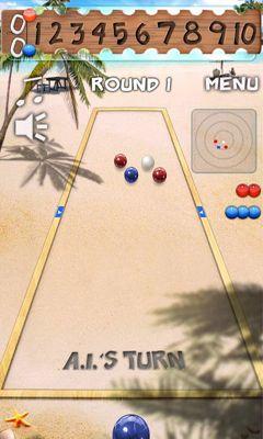 Bocce Ball - Android game screenshots. Gameplay Bocce Ball.