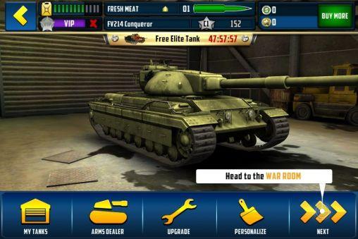 Boom! Tanks - Android game screenshots. Gameplay Boom! Tanks.