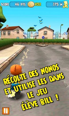 Screenshots of the Boule Deboule for Android tablet, phone.