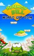 In addition to the game M2: War of Myth Mech for Android phones and tablets, you can also download Bouncy Bill: World cup 2014 for free.