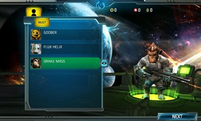Screenshots of the Bounty Arms for Android tablet, phone.