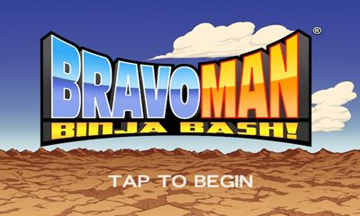 Screenshots of the Bravoman Binja Bash for Android tablet, phone.