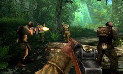 Screenshots of the Brothers in Arms 2 Global Front HD for Android tablet, phone.