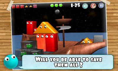 Screenshots of the Bubble Blast Rescue for Android tablet, phone.