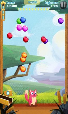 Screenshots of the Bubble Mania for Android tablet, phone.