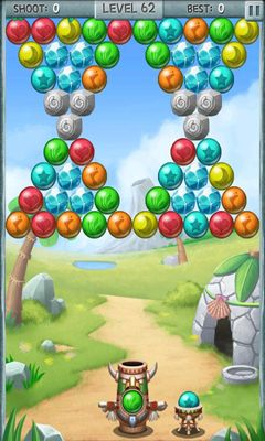 Screenshots of the Bubble Totem for Android tablet, phone.