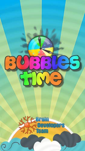 Screenshots of the Bubbles time for Android tablet, phone.