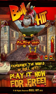 Screenshots of the BullHit for Android tablet, phone.