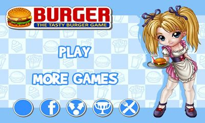 Screenshots of the Burger for Android tablet, phone.