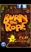 In addition to the game NBA 2K14 for Android phones and tablets, you can also download Burn The Rope+ for free.