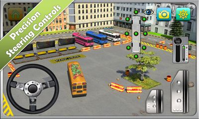 Screenshots of the Bus Parking Simulator 3D for Android tablet, phone.