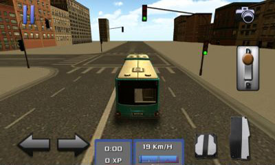 Screenshots of the Bus Simulator 3D for Android tablet, phone.