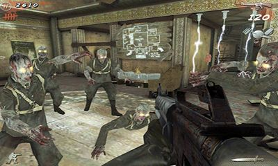 Screenshots of the Call of Duty Black Ops Zombies for Android tablet, phone.