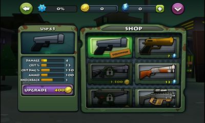 Screenshots of the Call of Mini: Brawlers for Android tablet, phone.