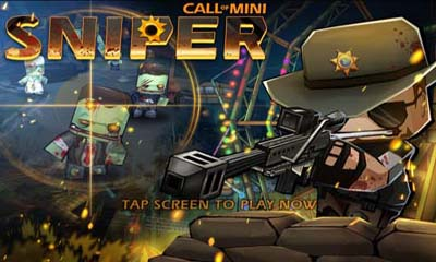 Screenshots of the Call of Mini Sniper for Android tablet, phone.
