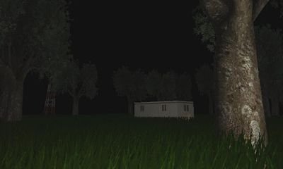 Screenshots of the Call of Slender for Android tablet, phone.