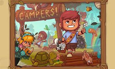 Screenshots of the Campers! for Android tablet, phone.