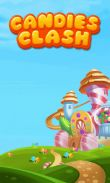 In addition to the game KHET Laser game for Android phones and tablets, you can also download Candies clash for free.