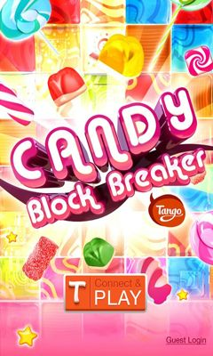 Screenshots of the Candy Block Breaker for Tango for Android tablet, phone.