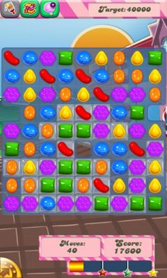 Screenshots of the Candy Crush Saga for Android tablet, phone.