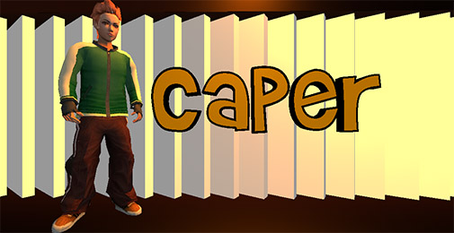 Screenshots of the Caper for Android tablet, phone.