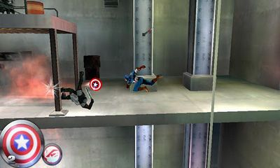 Screenshots of the Captain America. Sentinel of Liberty for Android tablet, phone.