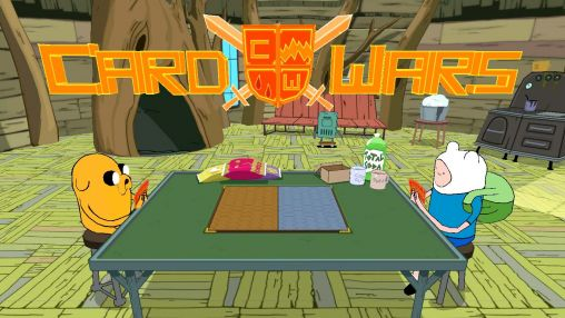 Screenshots of the Card wars: Adventure time for Android tablet, phone.