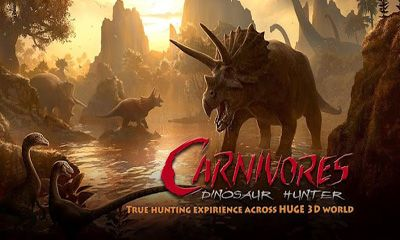 Screenshots of the Carnivores Dinosaur Hunter HD for Android tablet, phone.