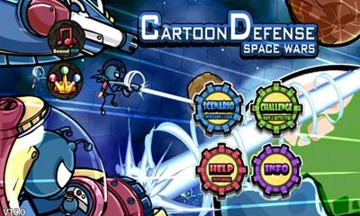 Download Cartoon Defense Space wars Android free game. Get full version of Android apk app Cartoon Defense Space wars for tablet and phone.