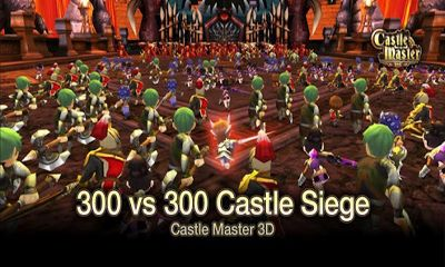 Screenshots of the Castle Master for Android tablet, phone.