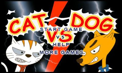 Screenshots of the Cat vs. Dog for Android tablet, phone.